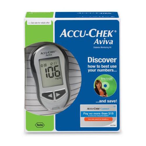 how to use accu chek aviva blood glucose meter